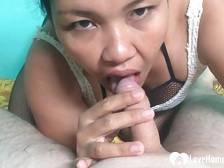 Asian mature gets a nice creampie in Suzerainty Guidance