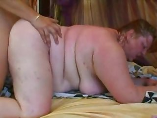 Supersized Redhead BBW Can't Get Enough In the air Sex