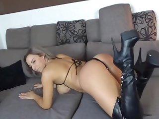 Hot German Milf riding Dick